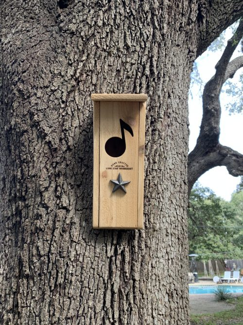 Musical Note Birdhouse